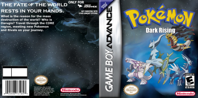 Pokemon Dark Rising Official Box Art