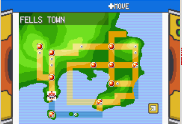 Pokemon Dark Rising World Map